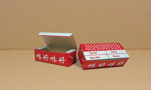 #2 Chinese Print - [0140] - 5 1/2 x 2 5/8 x 1 3/4 - 250/CS