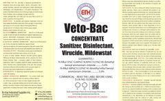 En Kay Veto-Bac Concentrate 4L - 4/CS