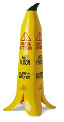 """The Banana Cone - 36"""" - French & English Wet Floor Sign"""
