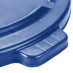 Rubbermaid - 1779731 - BRUTE 20 Gallon Blue Trash Can Lid