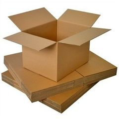 Corrugated Cartons - Various Sizes + Various Strengths - Each