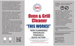 En Kay Oven & Grill Cleaner 1L - 12/CS