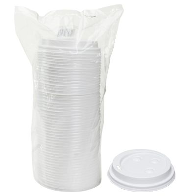 TOUCH - [20902] - LIDS FOR TOUCH HOT CUPS: 10 | 12 | 16 | 20 OZ - WHITE - 1000/CS