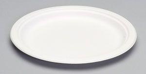"Harvest Fiber - Compostable 10"" Plate - 500/CS"