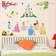 3D PRINCESS WALL DECAL