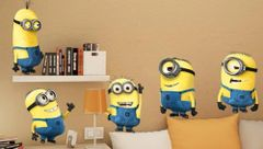 3D Despicable Me Minions Wall Decal