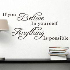 Believe in Yoursef
