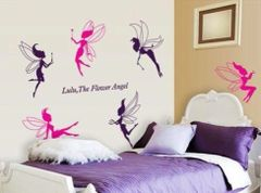 FLOWER FAIRY WALL DECAL