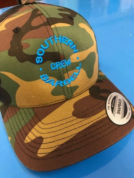 SBB Crew Brand Camo Snapback Hat