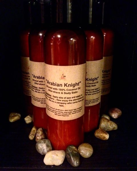 """Arabian Knight"" Men's After-Shave and Body Balm 4 0z"