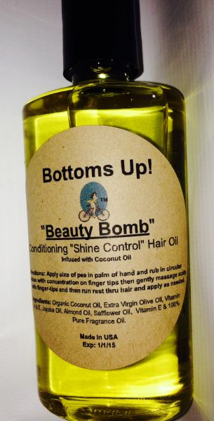 """Beauty Bomb"" Conditioning ""Shine Control"" Hair Oil 4oz"