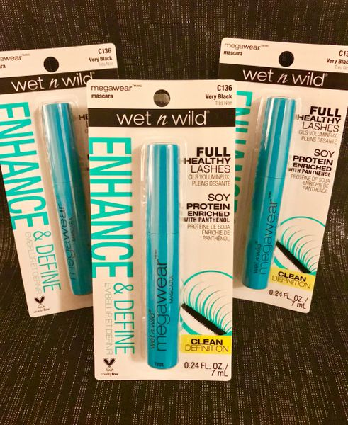 Wet-N-Wild Enhance and Define (Very Black) Mascara
