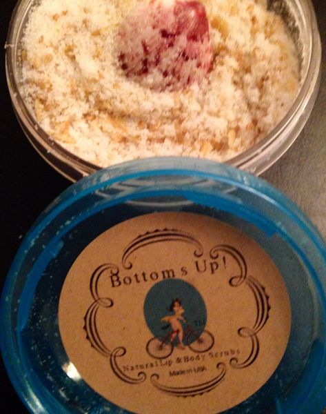 """Minty Breeze"" All Natural Intense Calming Lip & Body Scrub 2.5oz"