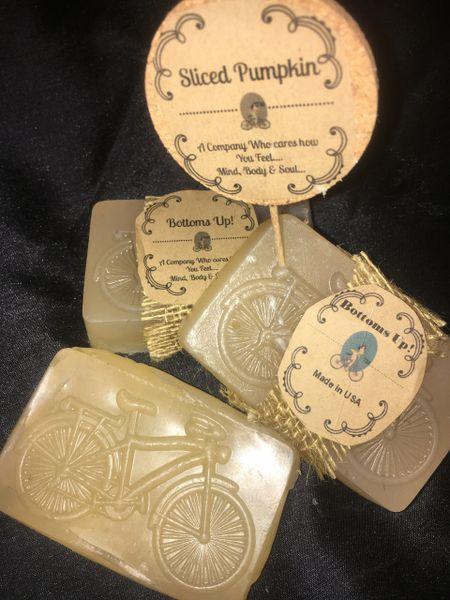 Hand-Made Slice of Pumpkin Coconut Oil moisturizing Soap (Large)