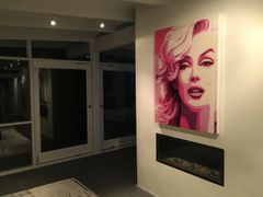 """Marilyn In POP"" Original Swarovski Crystal"