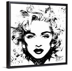 """Madonna"" Canvas Print"