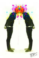 """Love Explosion"" Original or Canvas Print"