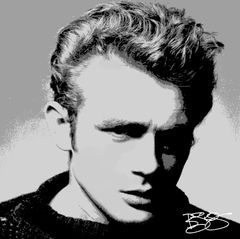 """James Dean in POP"" Original Artwork"