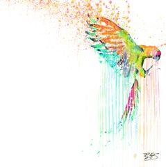 """Bird In Paradise Valley"" Canvas Print or Original"