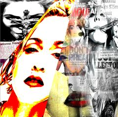"""""""Madonna In Time"""" Canvas Print"""
