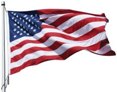 USA 5ft x 8ft Sewn Polyester Flags