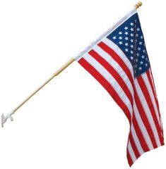 USA 3ft x 5ft Sewn BANNER Nylon Flags