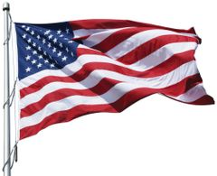 USA 10ft x 19ft Sewn Polyester Flags