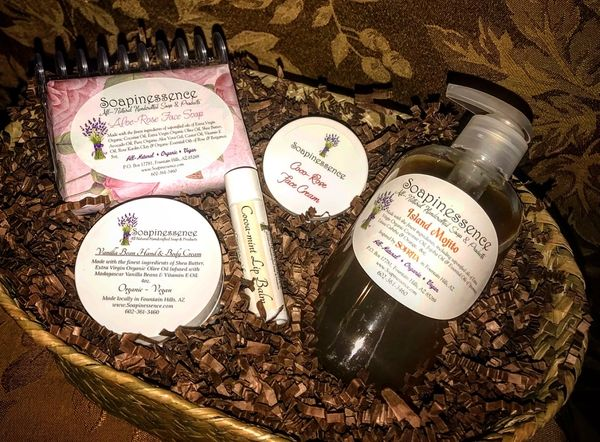 Luxurious Face & Body Gift Basket