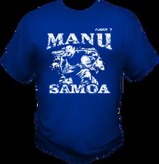 T-Shirt Manu Samoa by One Tribe Graffix