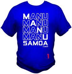 T-Shirt: 4Manu Samoa 1C by One Tribe Graffix