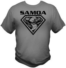 T-Shirt: Super Samoan 1 Colour
