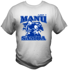 T-Shirt Manu Samoa by One Tribe Graffix (white)