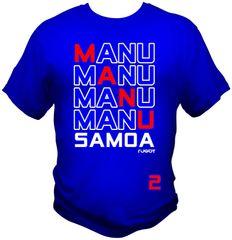 T-Shirt: 4Manu Samoa 2C by One Tribe Graffix