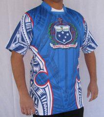 Rugby Jersey Manu Samoa (Blue)