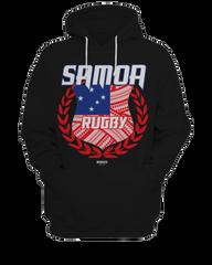 Samoa Rugby Hoodie by Rooci