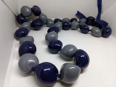 Kukuinut Lei Blue and Grey