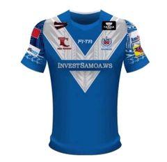 Samoa Rugby Jersey Toa 2017