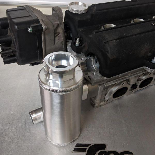TracTuff P75 Billet Water Neck w/ Swirl Tank