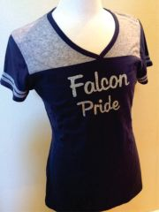Navy and Gray Jersey Tee Shirt