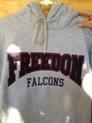Freedom Falcons GRAY, NAVY OR MAROON