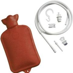 Enema System with Water Bottle