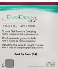 "Convatec DuoDERM® CGF® Hydrocolloid Wound Dressing 4"" x 4"""
