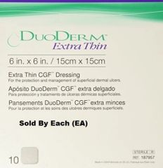 "ConvaTec DuoDERM® Extra Thin Dressing 6"" x 6"""