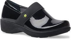 Dansko - Work Wonders Camellia Shoes - Black Patent