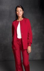 4350 - Cherokee - Jewel Neck Warm-Up Jacket