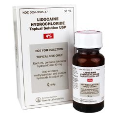 Lidocaine Hydrochloride Topical Liquid Solution 4%
