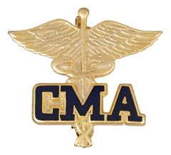Certified Medical Assistant Pin