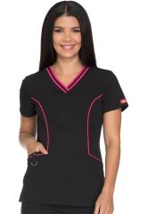 Xtreme Stretch V-Neck Top Dk715