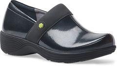 Dansko - Work Wonders Camellia Shoes - Grey Textured Patent