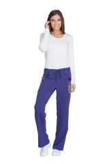 Mid Rise Drawstring Cargo Pant - Xtreme Stretch - Tall